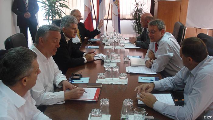 Treffen BiH Politiker in Banjaluka