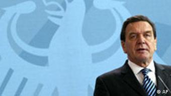 Gerhard Schröder Pressekonferenz