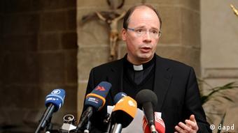 Der Trierer Bischof und Missbrauchsbeauftragte der Katholischen Kirche, Stephan Ackermann (Foto:dapd)