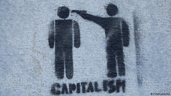 Capitalsim shot in the head