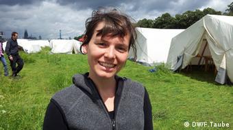 Hat das Camp mitorganisiert: Maria Sopala