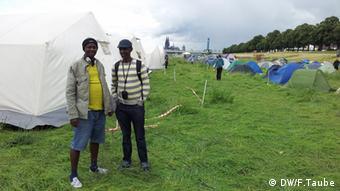 Die Teilnehmer wollen dem angekündigten Regenwetter trotzen