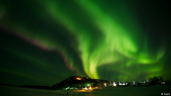 Aurora Borealis Nordlicht Polarlicht Alaska