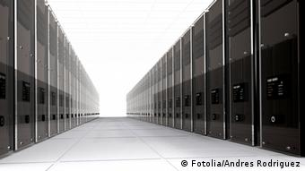 3d computer servers in perspective © Andres Rodriguez #1537893