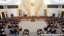 Weißrussland Parlament Lukashenko