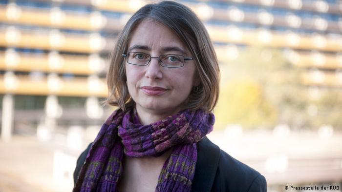 Die Juniorprofessorin für Gesellschaft und Kultur Ostasiens: Dr. Catherine Ruth (Katja) Levy,: (Foto: Ruhr-Universität Bochum)