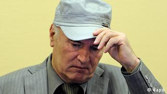 Ratko Mladic in Den Haag