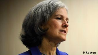 US Green Party presidential candidate Jill Stein (photo: Reuters)