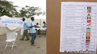 Symbolbild Angola Wahlen