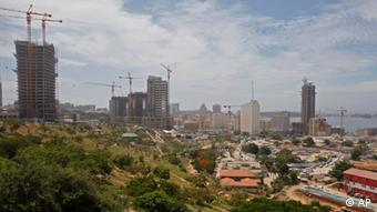 A view of skycrappers under construction in Luanda, Angola. (ddp images/AP Photo/Schalk van Zuydam)