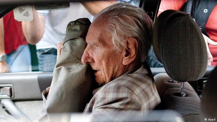 Alleged Hungarian war criminal Laszlo Csatary.Photo:MTI, Bea Kallos/AP/dapd.