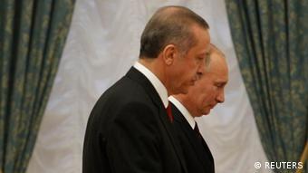 Erdogan und Putin Treffen in Moskau (Foto: REUTERS/Sergei Karpukhin)