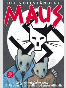 Comic Cover Art Spiegelman Maus Quelle:http://www.fischerverlage.de/buch/Maus/