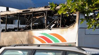 Bulgarien Flughafen Burgas Explosion Israelischer Reisebus