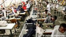 Afrika Textilindustrie Ghana