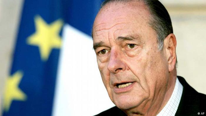 Jacques Chirac / Frankreich / Paris (AP)
