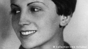 Gerda Taro, ca. 1927/28, Fotografin im Spanischen Bürgerkrieg (Foto: Collection Irme Schaber, Fotograf unbekannt)