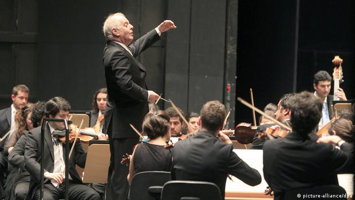 Daniel Barenboim in Konzert Juli 2012