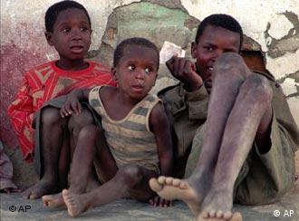 El rostro lacerante de la pobreza.