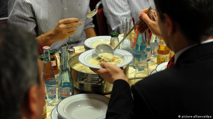 Ramadan 2011 Fastenbrechen in Berlin