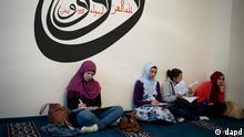Sehitlik-Moschee in Berlin vor Beginn des Ramadans 2012