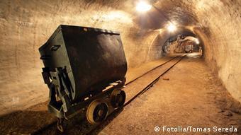 Шахта по добыче руды, архивное фото
