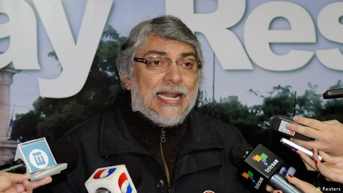 Paraguay Ex Präsident Fernando Lugo (Reuters)