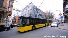 Stadtansichten Kiew Verkehrsmittel