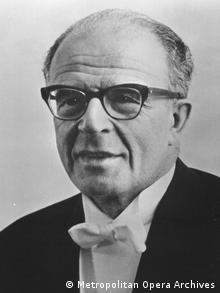 Maestro Franz Allers, um dos primeiros judeus expulsos do Teatro de Wuppertal