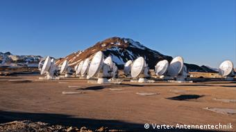 Chile - ALMA Radioteleskope
