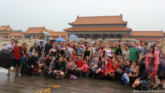 Bundesjugendorchester auf China Tournee