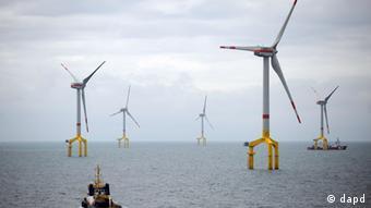 Морской ветропарк в Германии