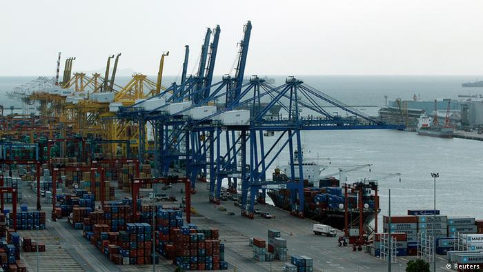 Thailand Wirtschaft Überseehafen Laem Chabang