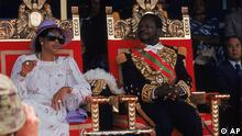 Jean-Bedel Bokassa ARCHIVBILD
