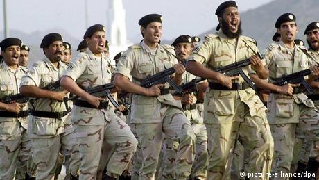 Sicherheitsvorkehrungen in Mekka vor Pilgerfahrt ARCHIVBILD 2003