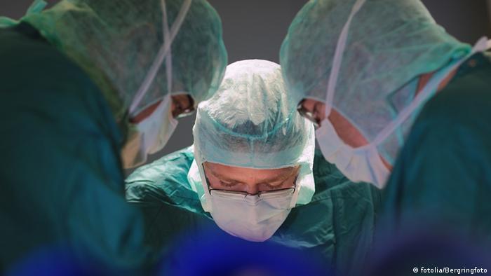 An operation underway