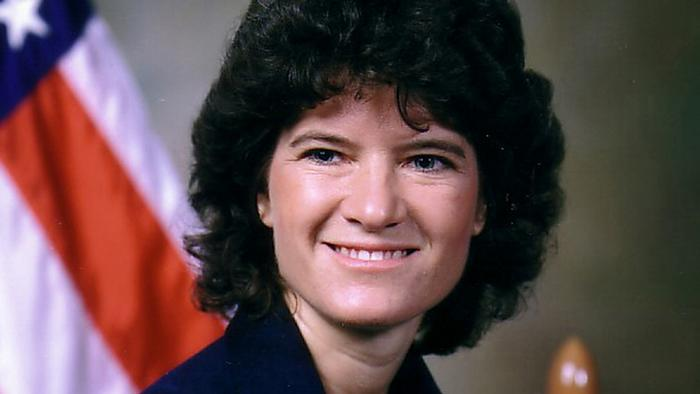 Ex-US-Astronautin Sally Ride (Foto: NASA/AP)