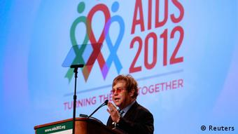Elton John AIDS 2012 Konferenz in Washington