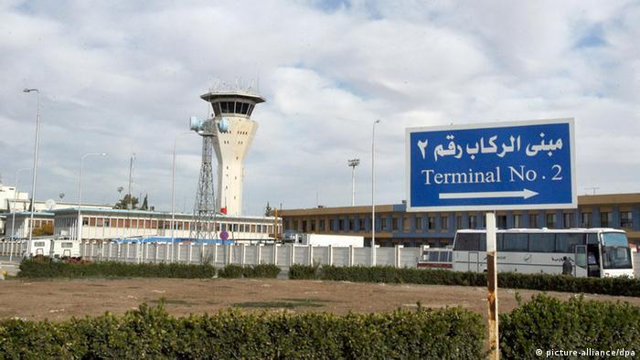Syrien Damaskus Flughafen (picture-alliance/dpa)