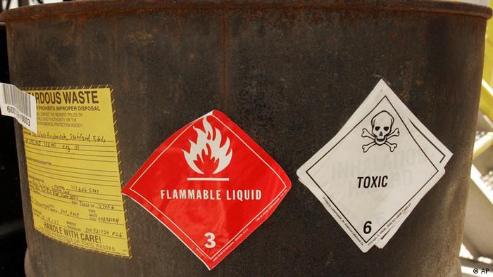 Chemiewaffen Vernichtung (AP)