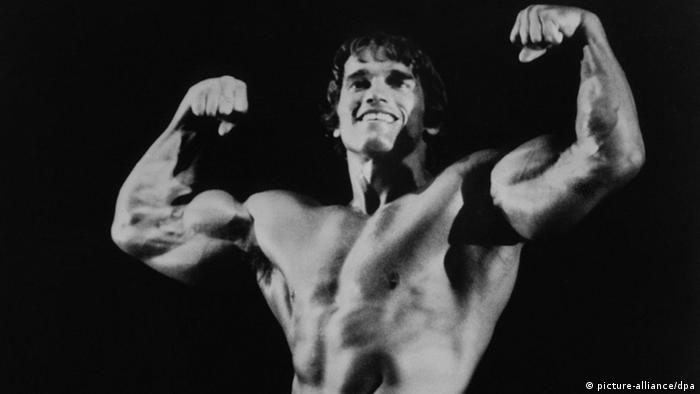 Arnold Schwarzenegger as bodybuilder in the 1970s (picture-alliance/dpa)