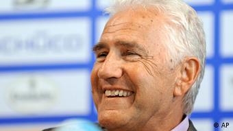 Bielefeld's new head coach Joerg Berger 2009. (ddp images/AP Photo/Martin Meissner)