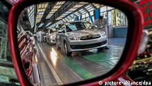 (120715) -- WUHAN, July 15, 2012 () -- Photo taken by Gan Guoshun on March 27, 2012 shows a production line of Dongfeng Peugeot Citroen Automobile Co., Ltd. in Wuhan, capital of central China's Hubei Province. My name is Gan Guoshun and I am 33 years old. I currently work as a monitor of the S2 production line in a general assembly factory of Dongfeng Peugeot Citroen Automobile, a car manufacturer. I applied for the membership of the Communist Party of China (CPC) in 2006 and joined the CPC on June 28, 2012. At work, I'm responsible for personnel, technique and quality control managements and the optimization of team operation. (/Gan Guoshun) (lmm) pixel