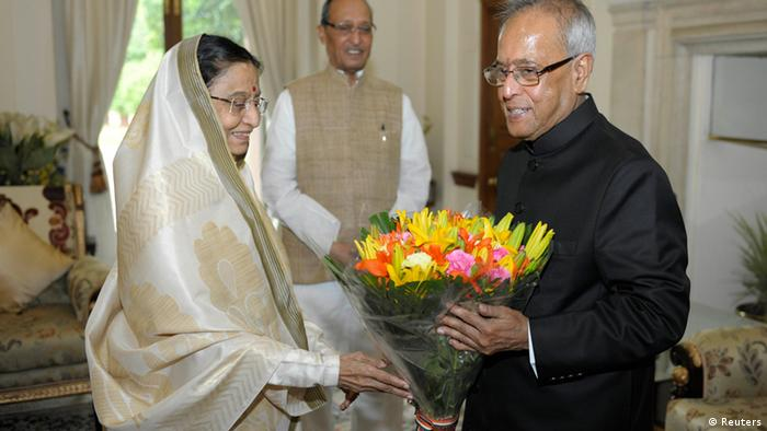 Indien Präsident Pranab Mukherjee Pratibha Patil
