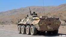 Die tadschikische Armee ergreift eine Offensive gegen bewaffneten Banden in Horog auf Pamir, Juli 2012. Copyright:DW/Galym Fashutdinov