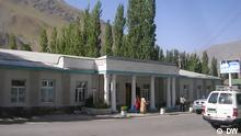 Eine Straße in Zentrum von Horog, Pamir, Tadschikistan, Juli 2012 Copyright:DW/Galym Fashutdinov