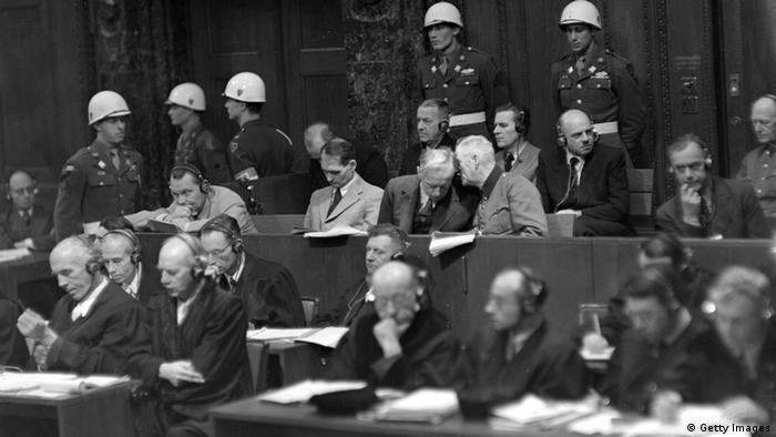 Нюрнбергский процесс, 3.12.1945