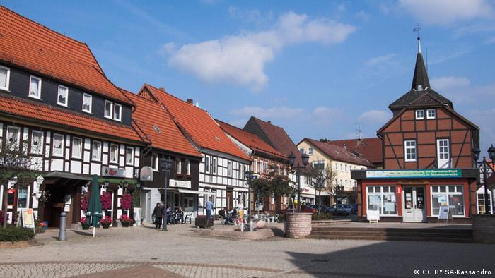 Херцберг. Рыночная площадь