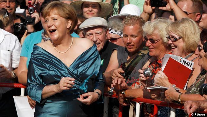 Ангела Меркель в Байройте