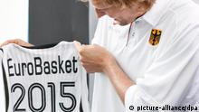 Basketball-EM in der Ukraine 2015